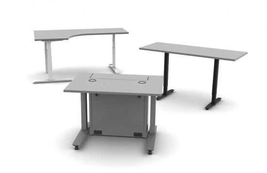 Workrite Desk Configurations